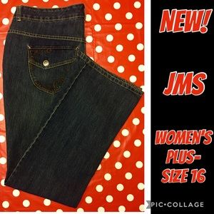 🆕 JMS bootcut DENIM